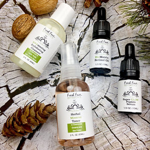 Fresh Face: Anti-Aging Mini Kit - Fresh Face Botanicals™ - Advanced Natural Skin Care