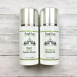 Skin Brightening & Lifting Serum Duo - Fresh Face Botanicals™ - Advanced Natural Skin Care