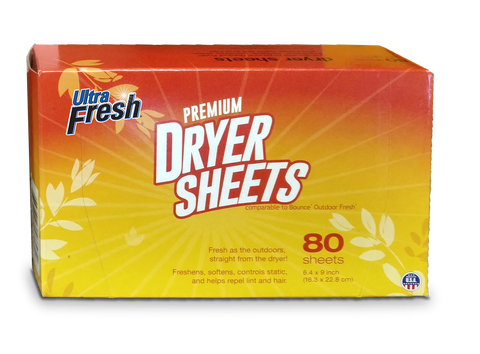 Ultra Fresh® Outdoor Fresh™ Dryer Sheets