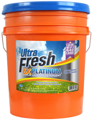 Ultra Fresh® Platinum™ 6X Fresh Breeze™ Laundry Detergent - 5 Gallons