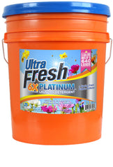 Ultra Fresh® Platinum™ Original Blue™ 6X Laundry Detergent + Spring Fresh™ Fabric Softener - 5 Gallons