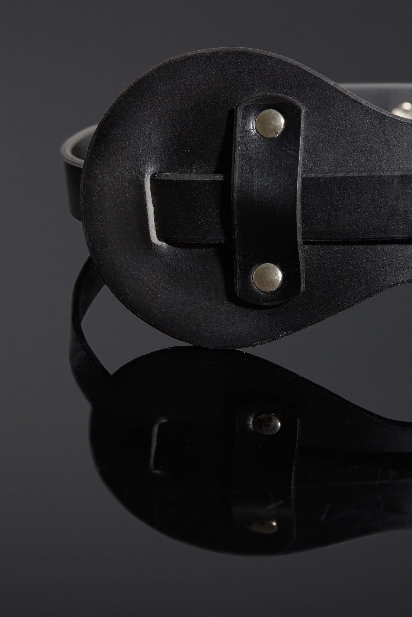Felina Luxury Leather BDSM Blindfold