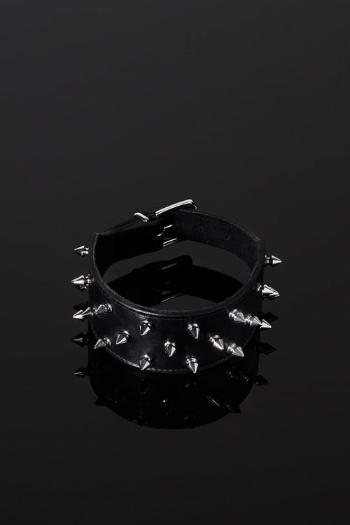 House of SXN SpikeD Luxury Slave Collar with Spikes for BDSM