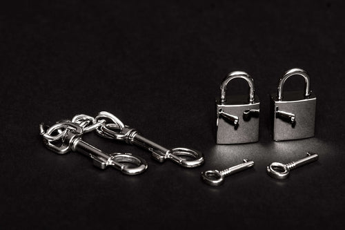 House of SXN Servage Lock and Key Set Bondage Locks and Restraints