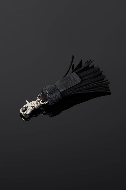 House of SXN Suede Mini Flogger Key Chain