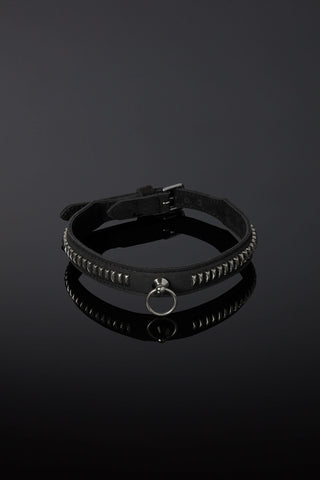 Servus Leather Bondage Collar