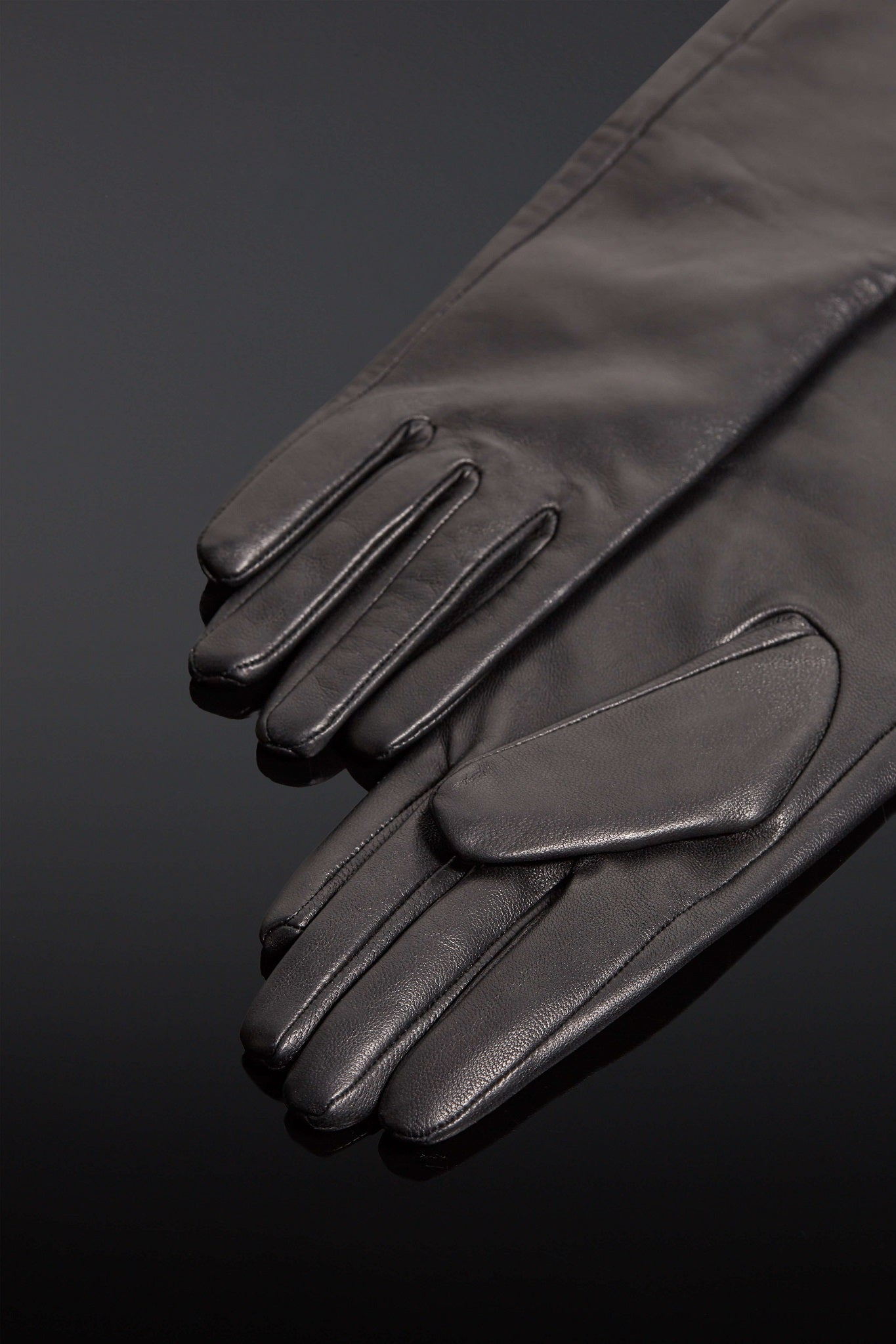 House of SXN Leather Sense Opera Gloves
