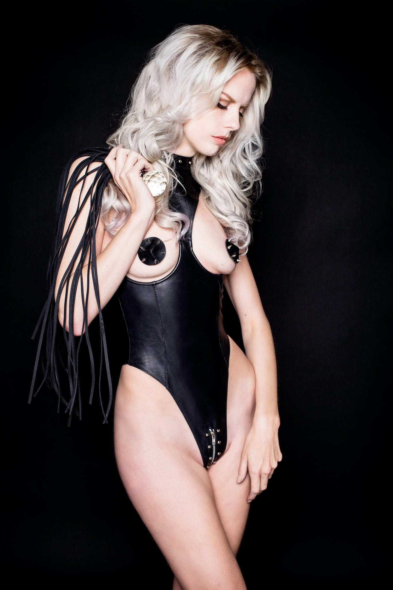 House of SXN Leather Sense Skinz Lingerie