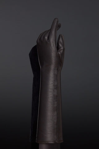Patent Leather Sense BDSM Opera Glove