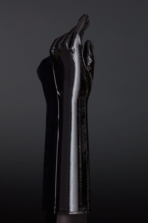 House of SXN Patent Leather Glove