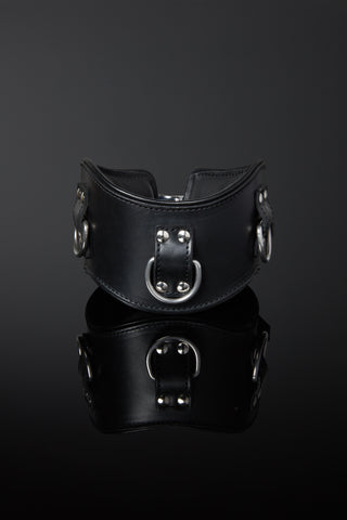 Servage Classic Leather Posture Collar - Low