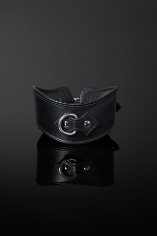 Opulenta Subtilis Leather Slave Collar