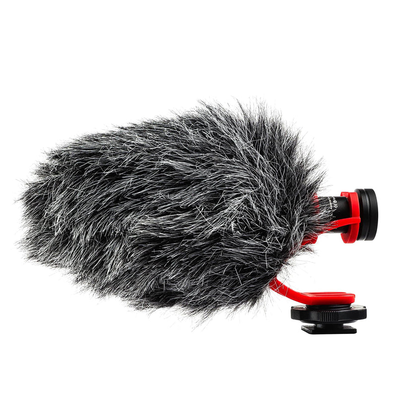 POWRIG conference light gears Shotgun On-camera Compact Video Microphone