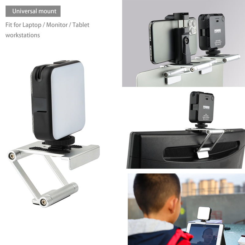 POWRIG conference light Video Conference Light Kit with Phone Mount