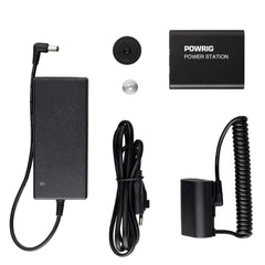 POWRIG External Power Pack Sony NP-F550 Dummy Battery External Power Pack