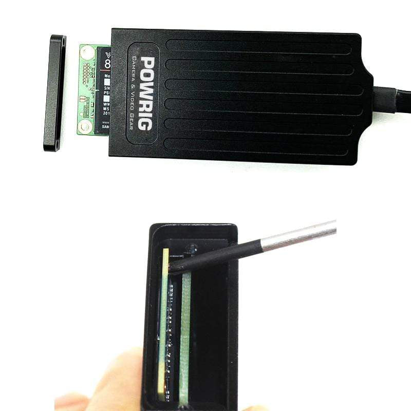 POWRIG power battery POWRIG CFAST to SSD mSATA Card Adapter