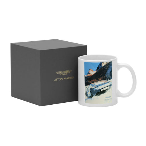 'Aston Martin On Ice' Mug
