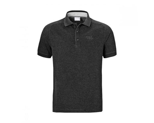 Large Audi Polo Shirt - Grey