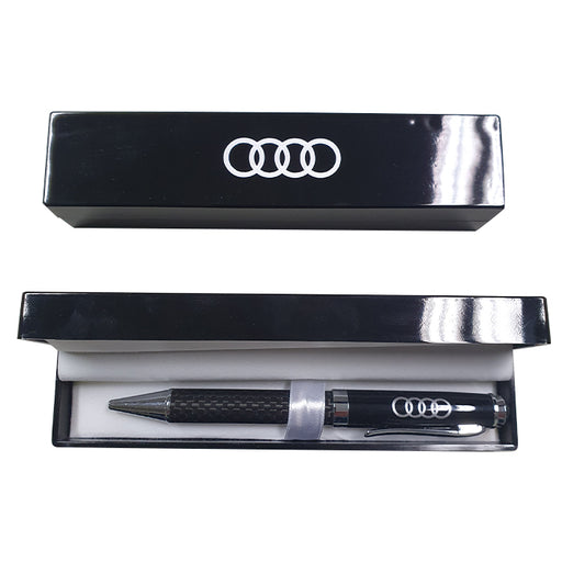Carbon Fibre Pen in Case