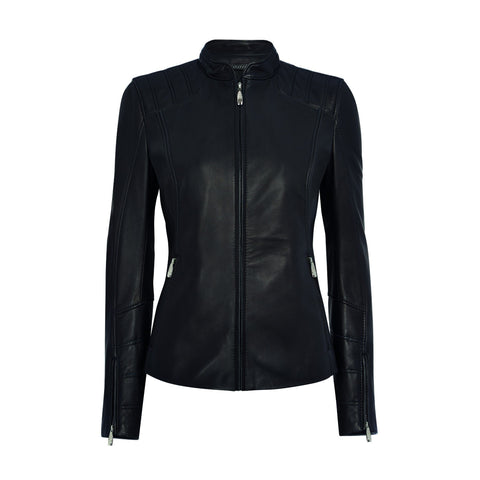 Bentley Iconic Ladies Leather Jacket