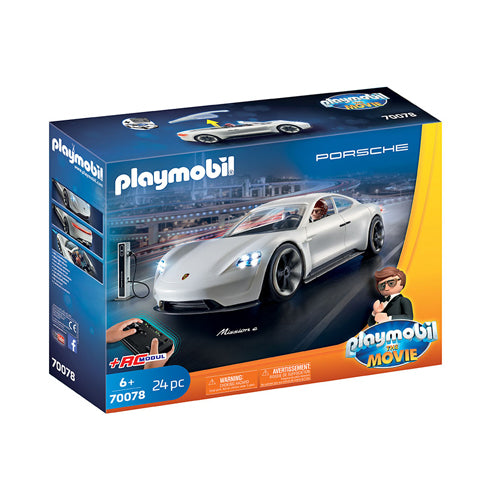 Playmobil Porsche Mission E Toy Car