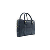 Aston Martin Luxury Leather Briefcase - Navy