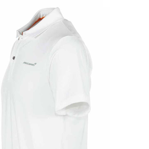 MCLAREN POLO SHIRT WHITE MENS