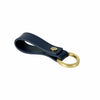 Aston Martin Leather Key Ring - Navy