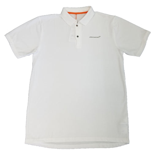 McLaren Mens Polo Shirt - White