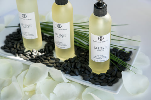 Heal Your Skin Naturally With Shine Body Oil