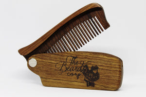 Black Sandalwood Switch Comb