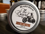 Coffee and vanilla scented beard and mustache balm