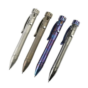 MecArmy TPX12 Titanium Bolt Action Tactical Pen