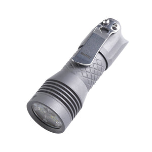 PS16 Titanium 2000 Lumens EDC Flashlight