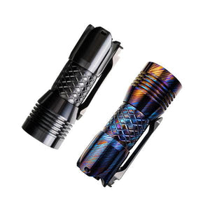 PS16 Limited Edition Zirconium / GeekTi 2000 Lumens EDC Flashlight