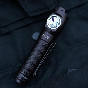FM Series Dual Switch 1000 Lumens Compact Flashlight