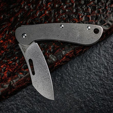 MecArmy EK3RT Titanium Slipjoint EDC Pocket Folding Knife
