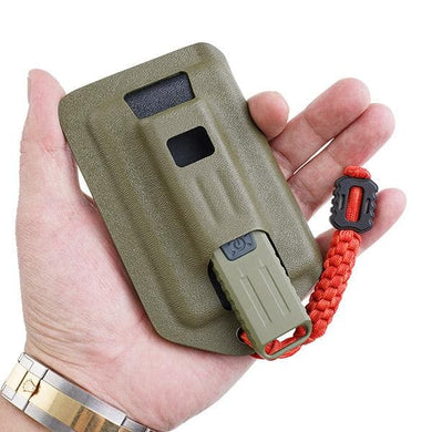 FC1 Kydex sheath for MecArmy SGN3 light and cards and change