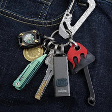 CH7 Titanium Keyring Kit |  7pcs keyring | Uses with Keys and other EDC gears