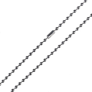CH0 Titanium Beaded Chain