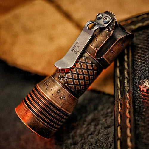 PS16 Limited Edition COPPER 2000 Lumens EDC Flashlight