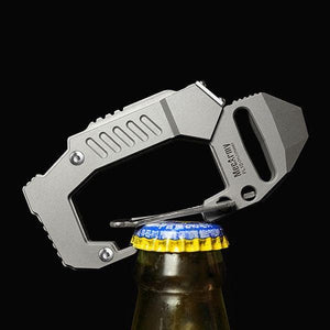 MecArmy FL10 EDC Carabiner Flashlight - Bottle Opener