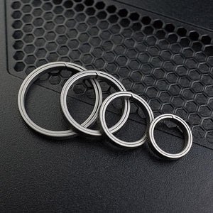 MecArmy CH1 EDC Keyring | Set of four different sizes | Use with Keys and other EDC gear
