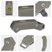 MecArmy FL02 USB Rechargeable Keychain Flashlight