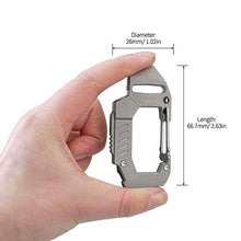 MecArmy FL10 EDC Carabiner Flashlight