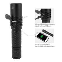 MecArmy MOT10 1000 Lumens USB Rechargeable EDC Flashlight