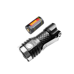 MecArmy PT16 EDC LED Flashlight coming with pocket clip