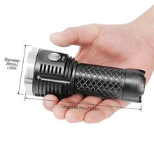 MecArmy PT26 3850 Lumens USB Rechargeable Flashlight