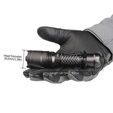 MecArmy SPX18 1100 Lumens 360 Degrees Operated Tactical Flashlight