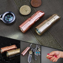 MecArmy Illumine X3S 130 Lumens Mini Rechargeable Keychain Flashlight